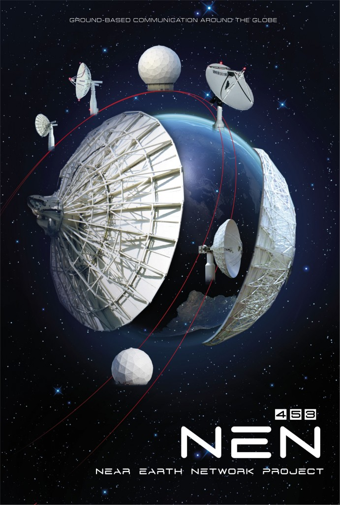 Poster Design for NASA's Near Earth Network Project
