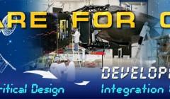 Banner Design for NASA's Tracking and Data Relay Satellite Program
