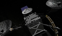 Satellite Animation for NASA's Tracking and Data Relay Satellite Program (TDRS)