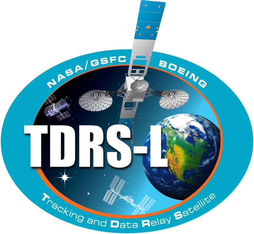 TDRS-L Logo Design for NASA's Tracking and Data Relay Satellite Program